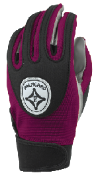 Maroon Grip-Tack Receiver Gloves