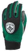Forest Green Grip-Tack Receiver Gloves