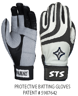 NEW YOUTH STS PADDED BATTING GLOVES