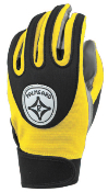 Yellow Grip-Tack Receiver Gloves