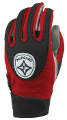 Red Grip-Tack Receiver Gloves