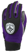 Purple Grip-Tack Receiver Gloves