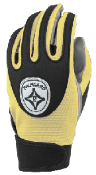 Vegas Gold Grip-Tack Receiver Gloves